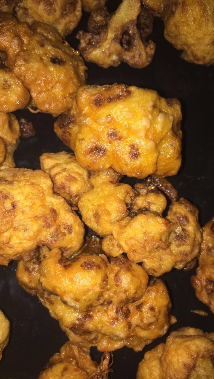 fried cauliflower
