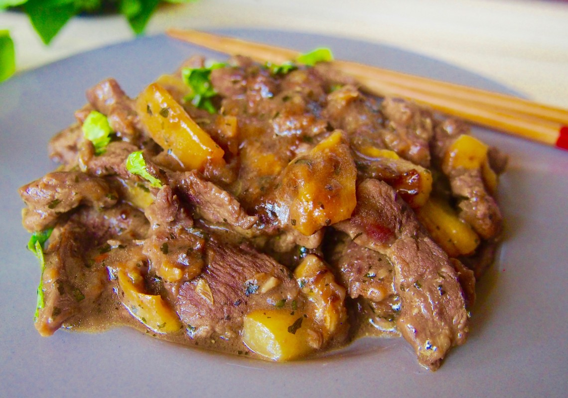 Chinese Beef Stir Fry Sweet