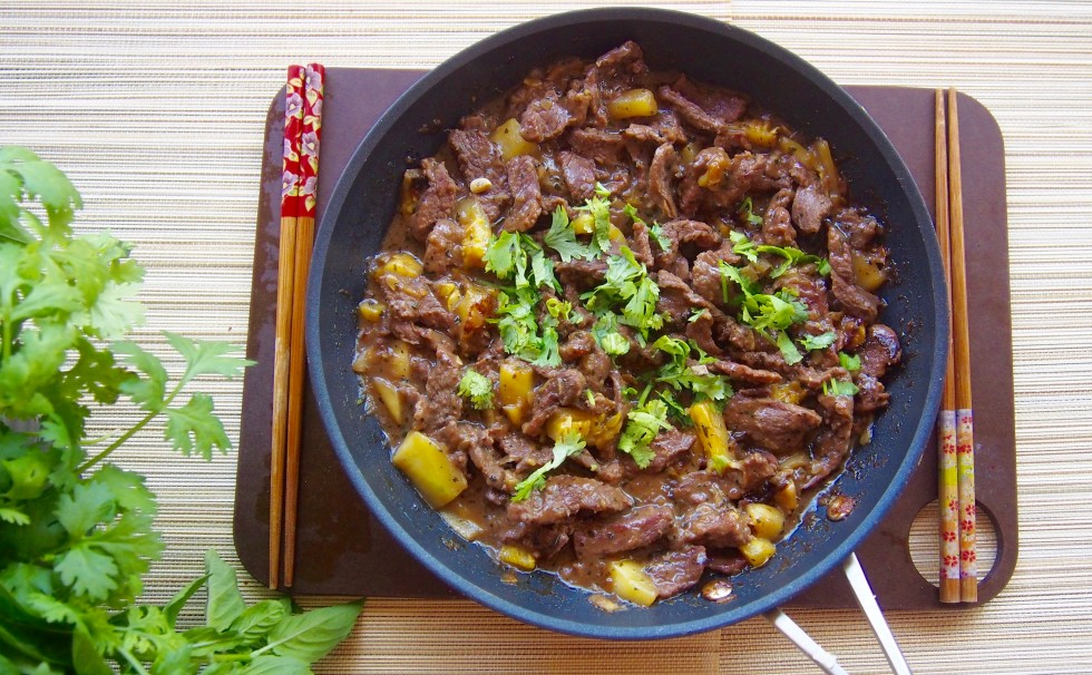 Beef Chinese Stir Fry Sweet