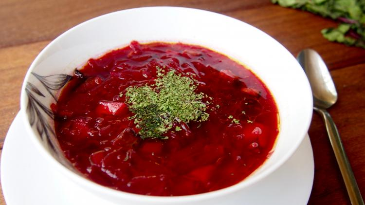 Vegetarian Beet Soup Borscht Recipe I Love Food Food Blog