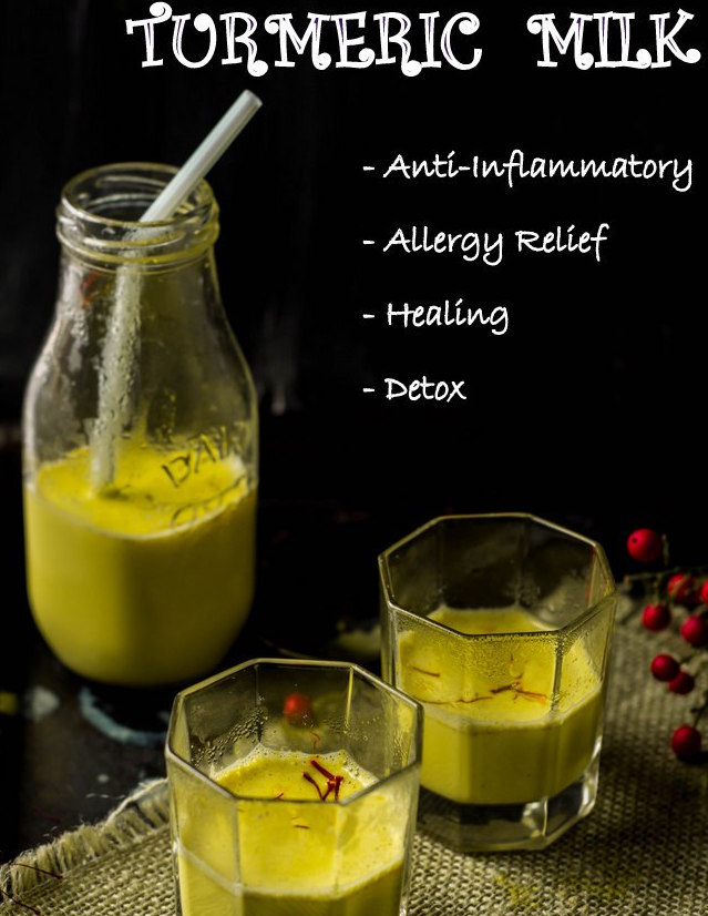 Turmeric Milk | Healing Golden Milk