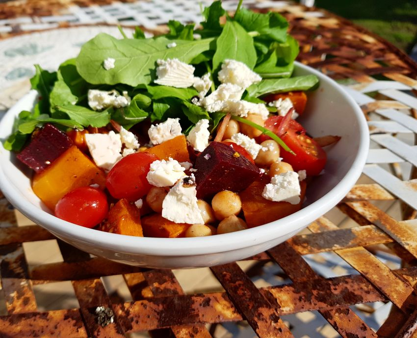 Butternut and Chickpea Salad