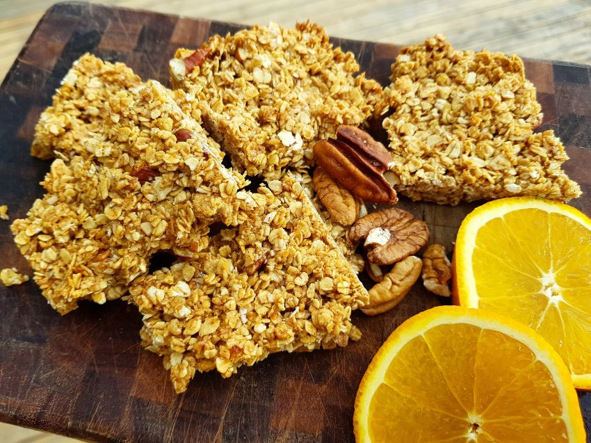 Citrus Breakfast Bars