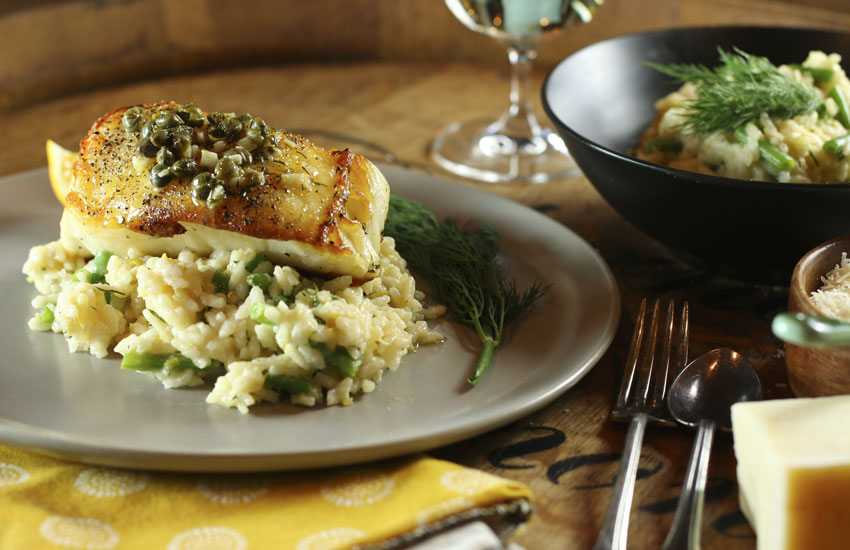 Chilean Sea Bass With Caper Sauce