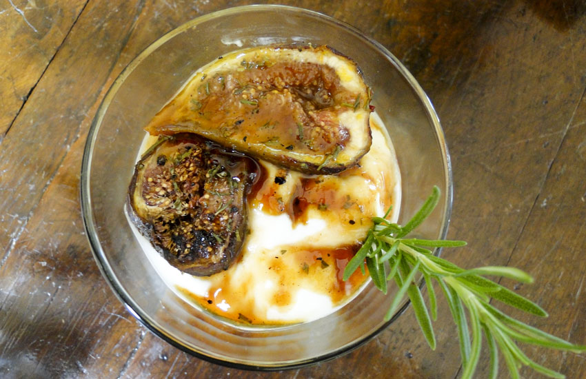 Roasted Fig Yogurt Parfait