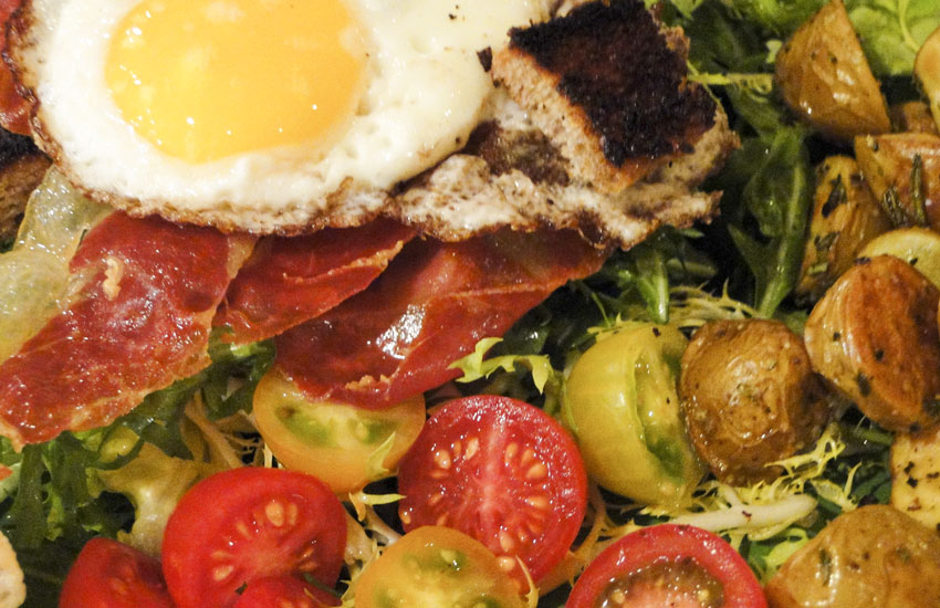 Bacon And Eggs Salad