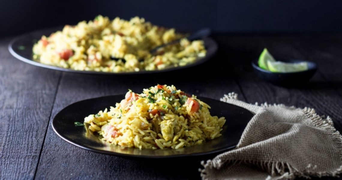 Indian Spiced Fried Rice