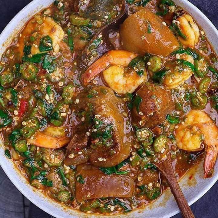 Okro Soup Recipe Nigerian Recipe Food Blog