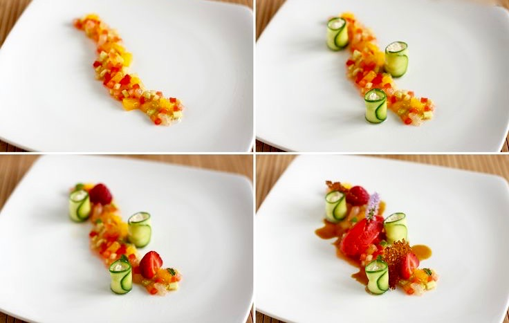 Garnishes and plate presentation | nutrition411.